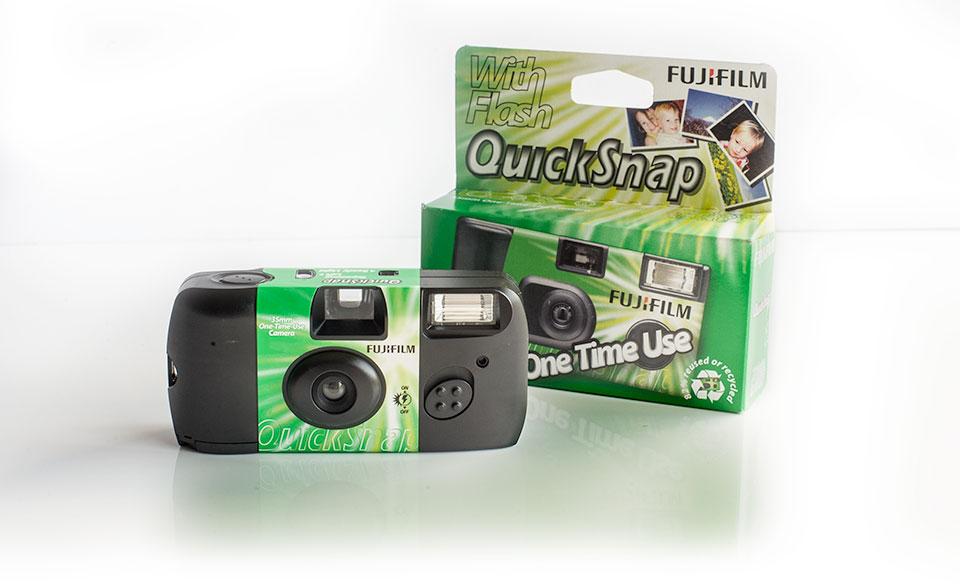 Fuji Fujifilm Galway disposable film camera