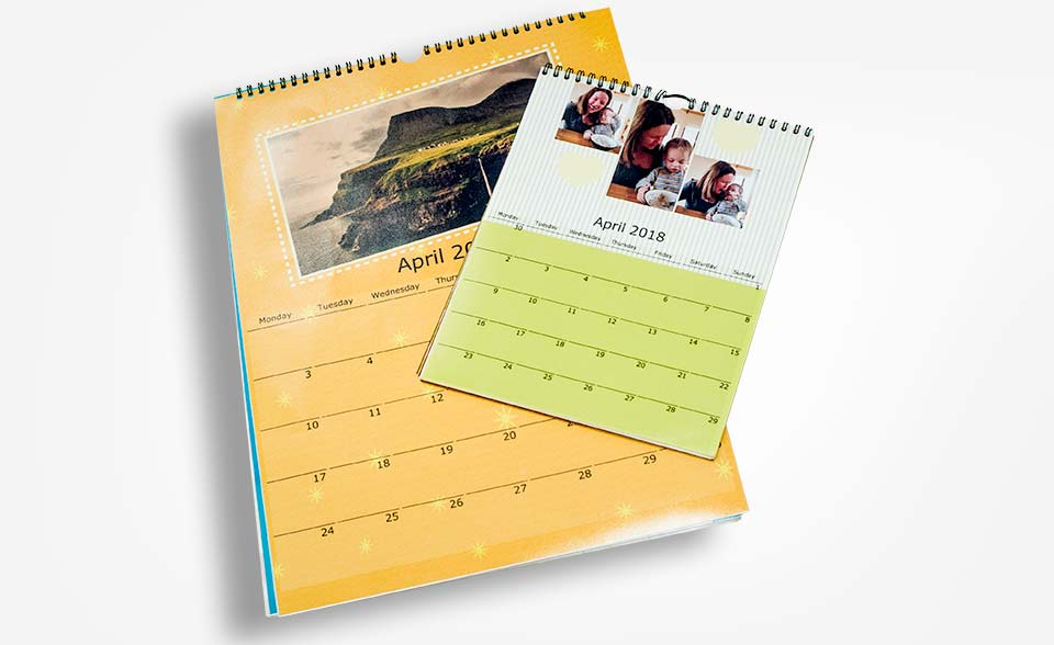 Fuji Fujifilm Galway Photo calendars personalised dates