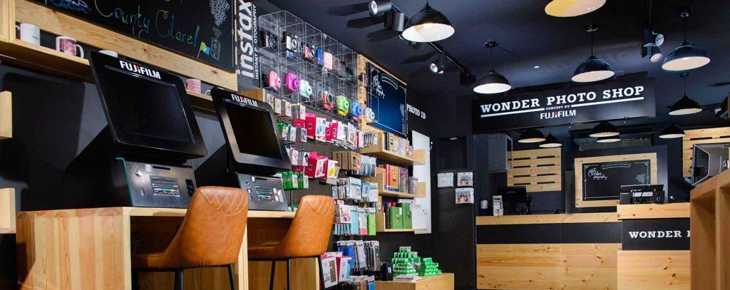 Wonder Photo Shop Interior